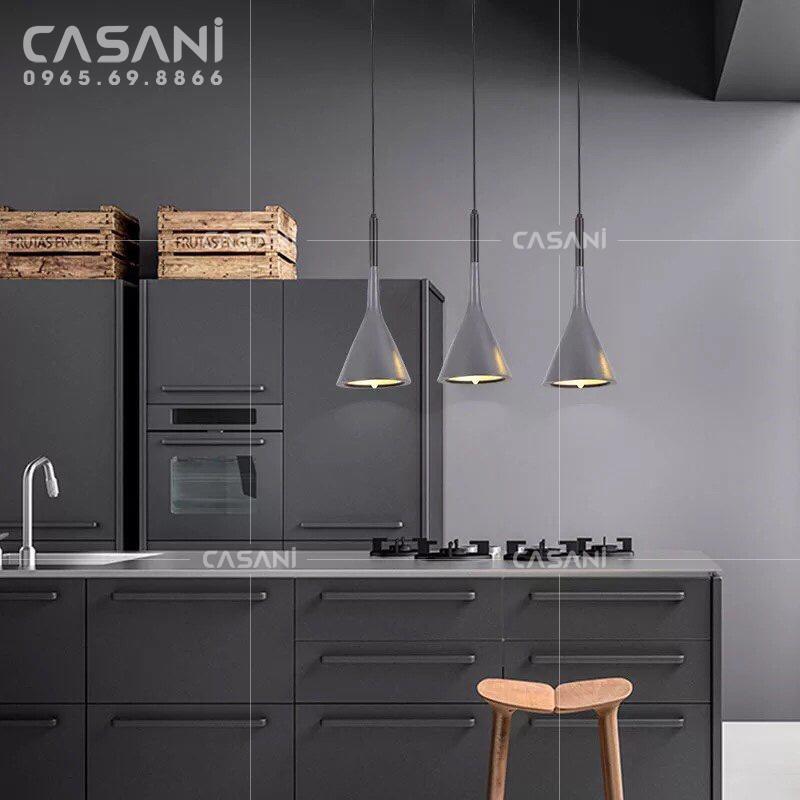 Cách chọn lựa đèn thả bàn ăn phù hợp cho không gian nhà bếp