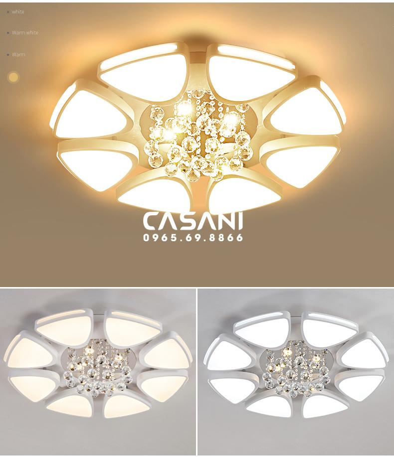 Bộ sưu tập đèn mâm led tròn được ưa chuộng nhất