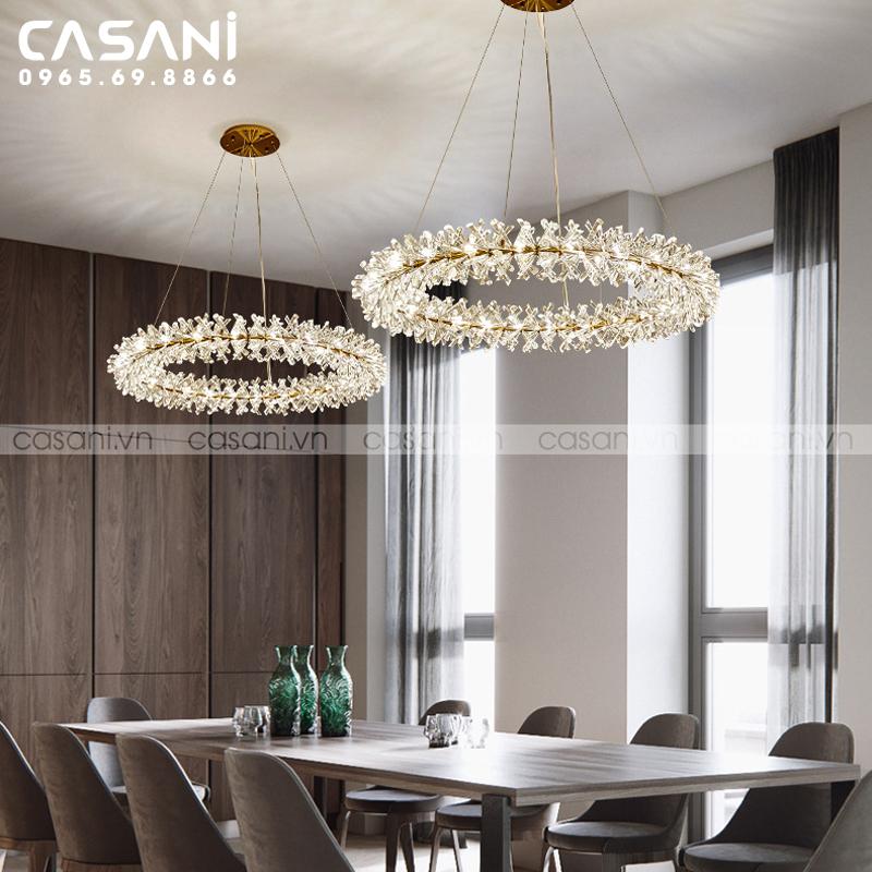 Hướng dẫn cách chọn đèn trang trí cho phòng ăn hiện đại