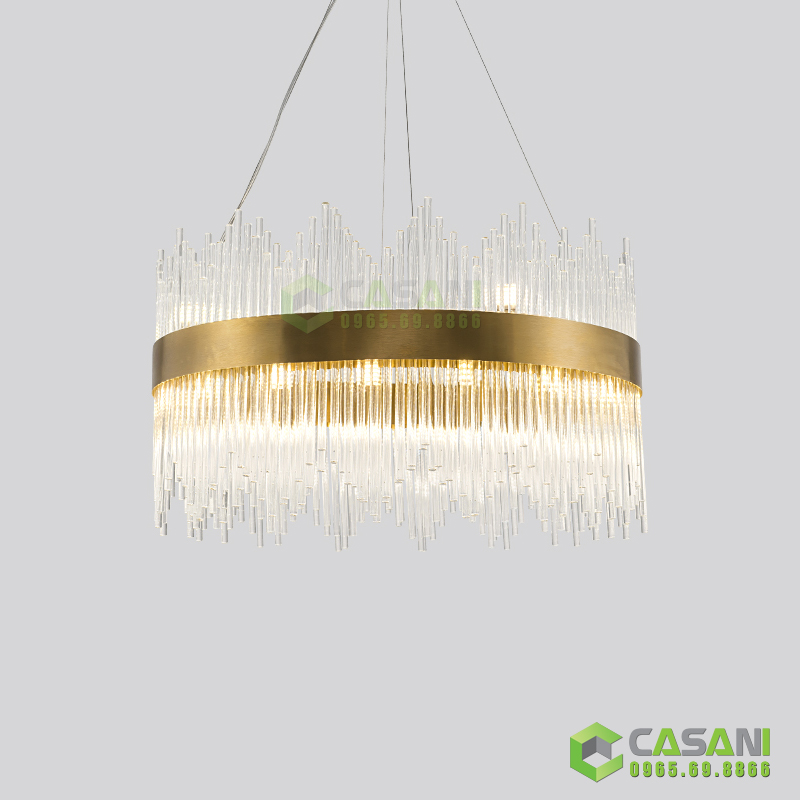 Gợi ý những mẫu đèn hiện đại cho phòng khách chung cư