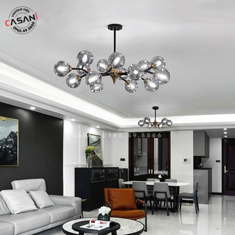Chọn đèn phòng khách hiện đại cần lưu ý những điều gì?