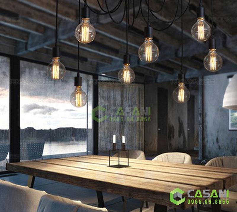 Đèn chùm thả Edison 6 bóng CCH-8311-6