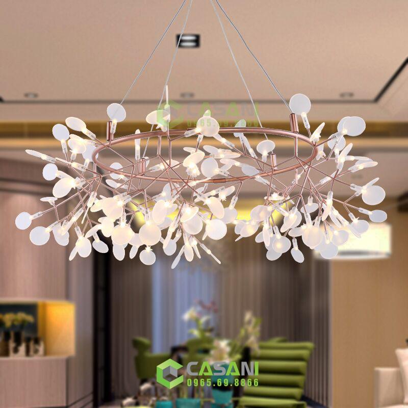 Những mẹo lựa chọn đèn phòng khách hiện đại