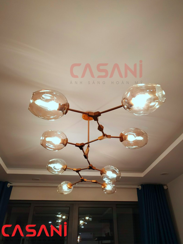 Bộ sưu tập những mẫu đèn phòng khách hiện đại được ưa chuộng nhất