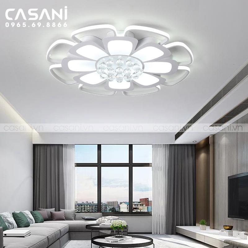 Vì sao nên chọn đèn mâm giá rẻ cho phòng khách chung cư?
