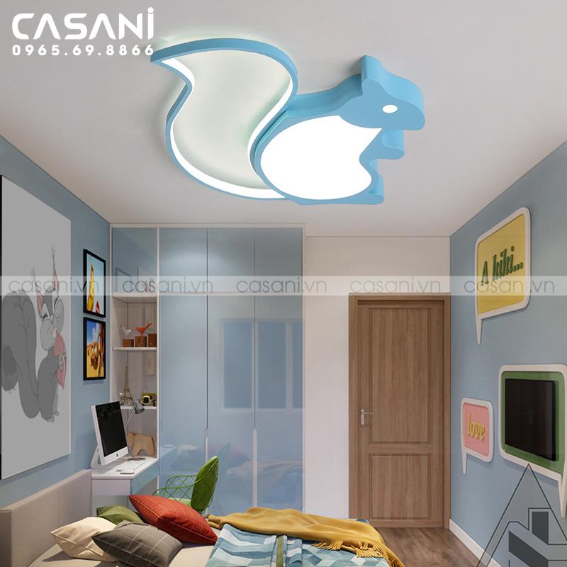 Mẹo lắp đặt đèn mâm ốp trần trẻ em cho không gian phòng ngủ của bé