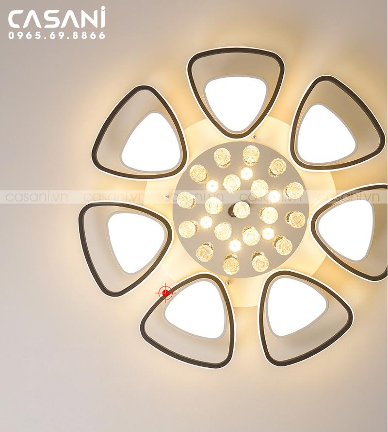 Đèn mâm ốp trần hiện đại CMH-6818-80