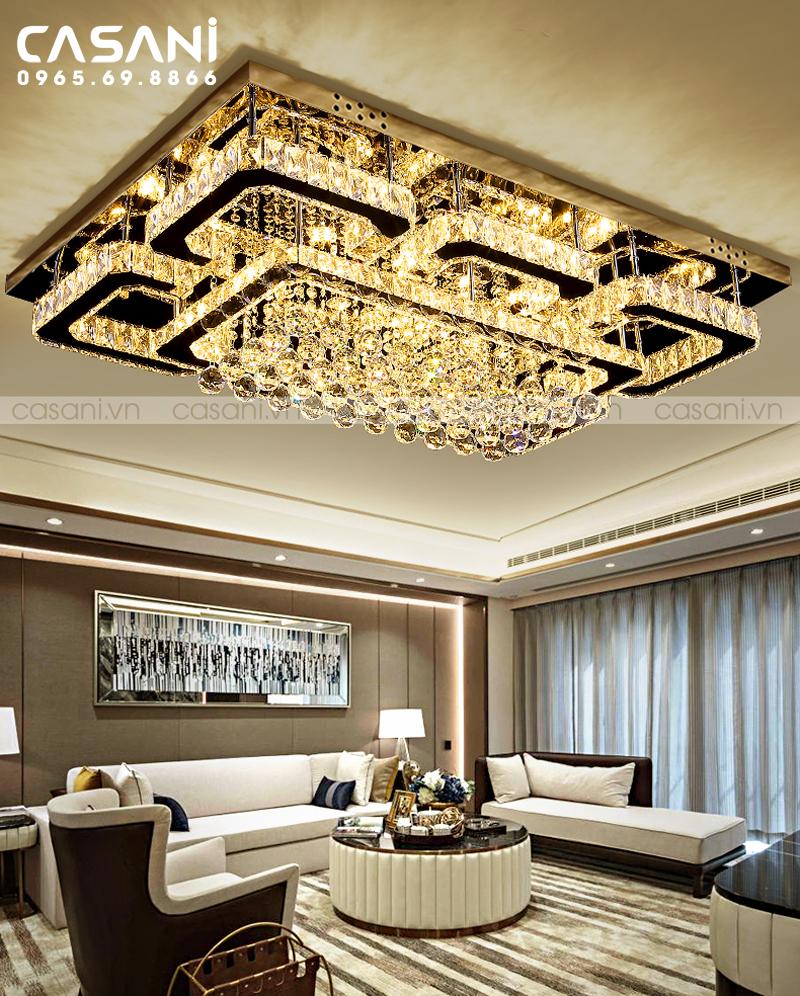 Lựa chọn đèn mâm áp trần có thiết kế phù hợp