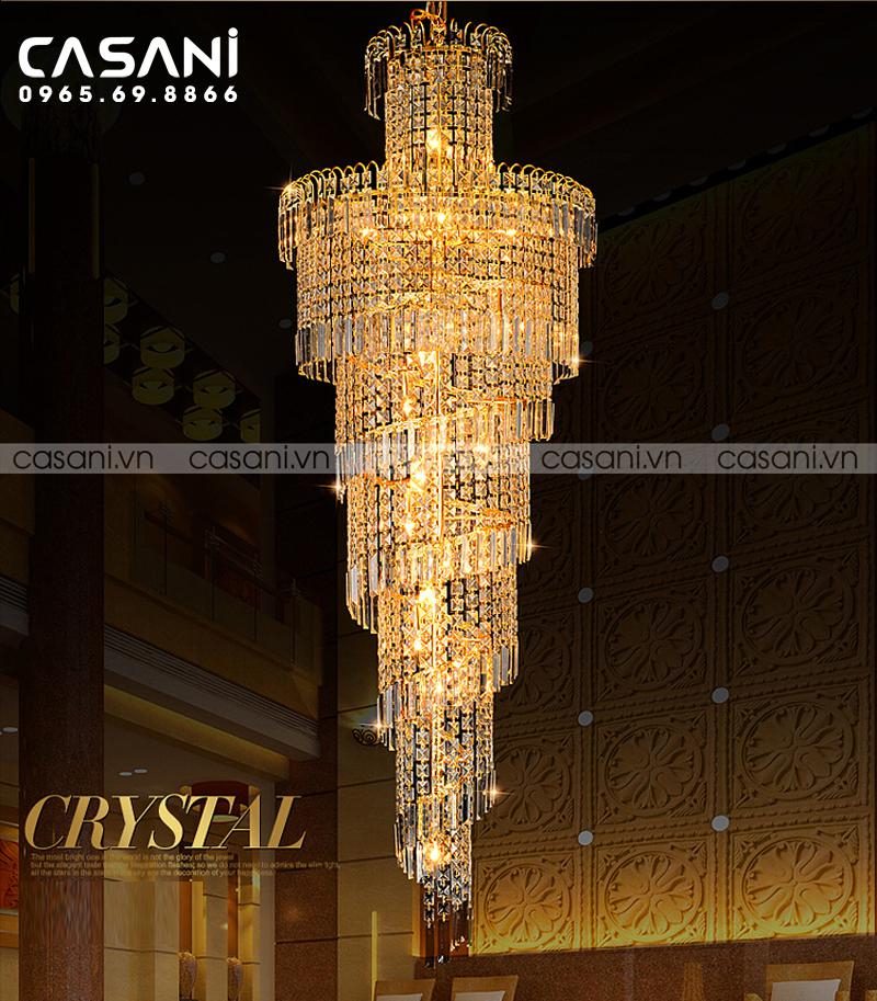 Chia sẻ cách chọn đèn nhà hàng khách sạn đẹp nhất