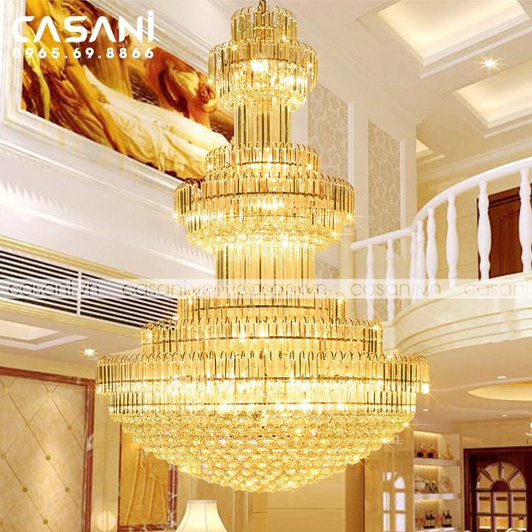 Chùm đèn nhà hàng khách sạn giá bao nhiêu?