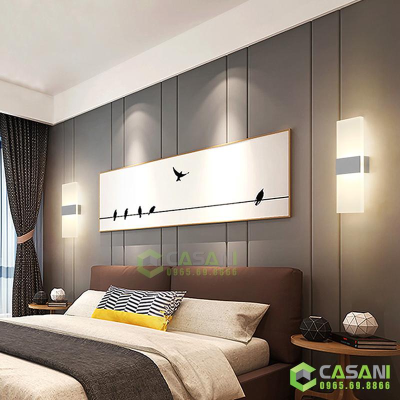 Bí quyết chọn đèn tường hiện đại phù hợp với không gian