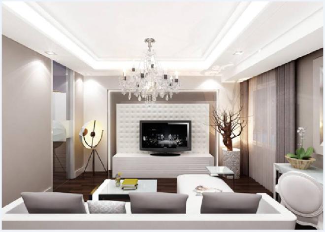 Chọn đèn trang trí cho phòng khách chung cư