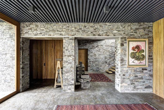 Stone House với Magnificent Xem Elias Rizo Arquitectos tác phẩm thủ công nổi bật tuyệt đẹp