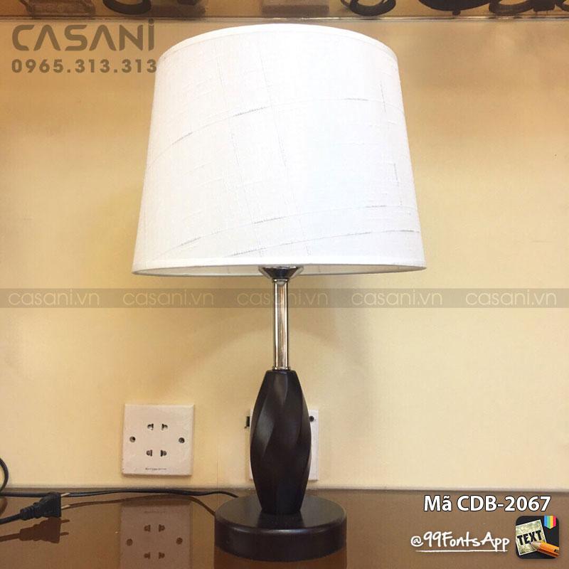 vệ sinh đèn bàn phòng ngủ