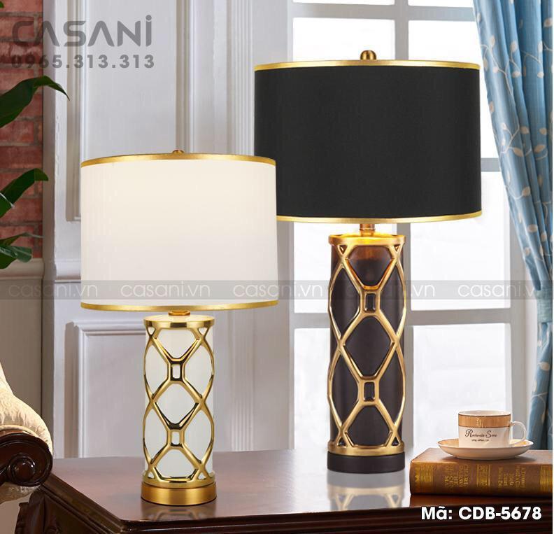 đèn bàn trang trí phòng ngủ