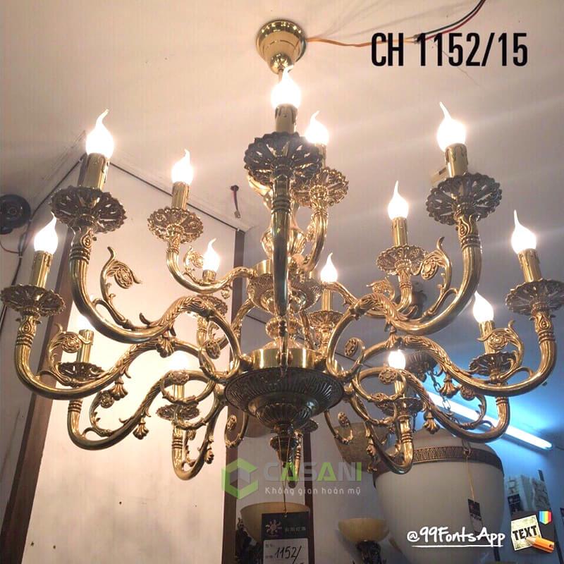 Đèn Chùm Đồng CCD-1152-15