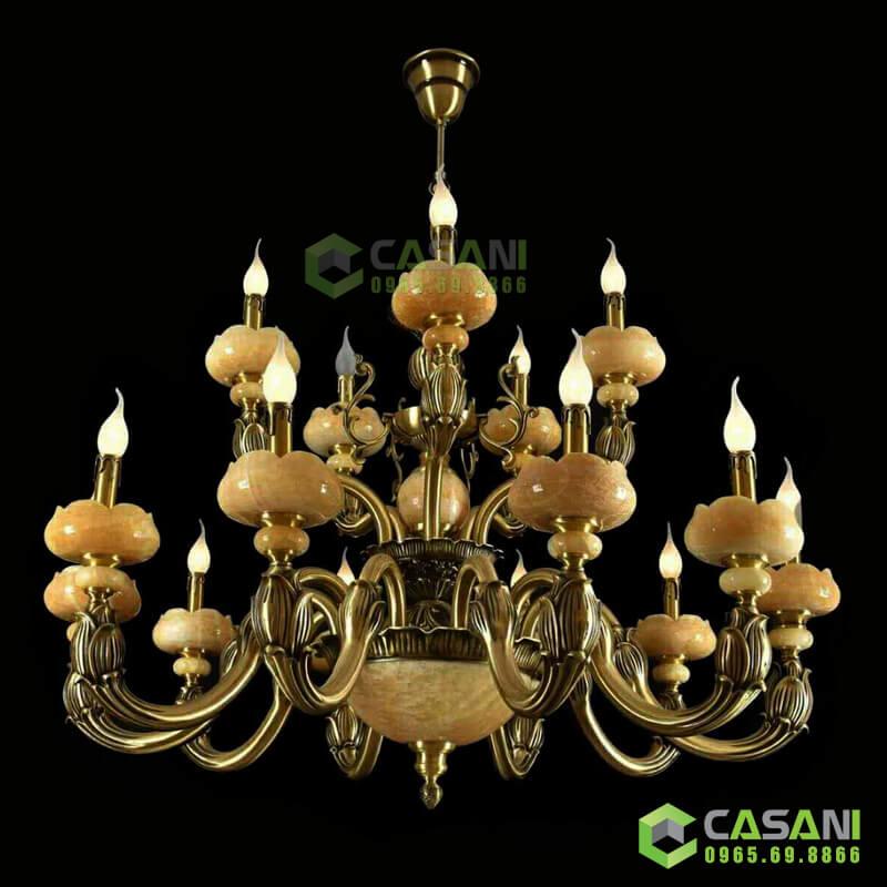 Đèn Chùm Đồng CCD-7014-15