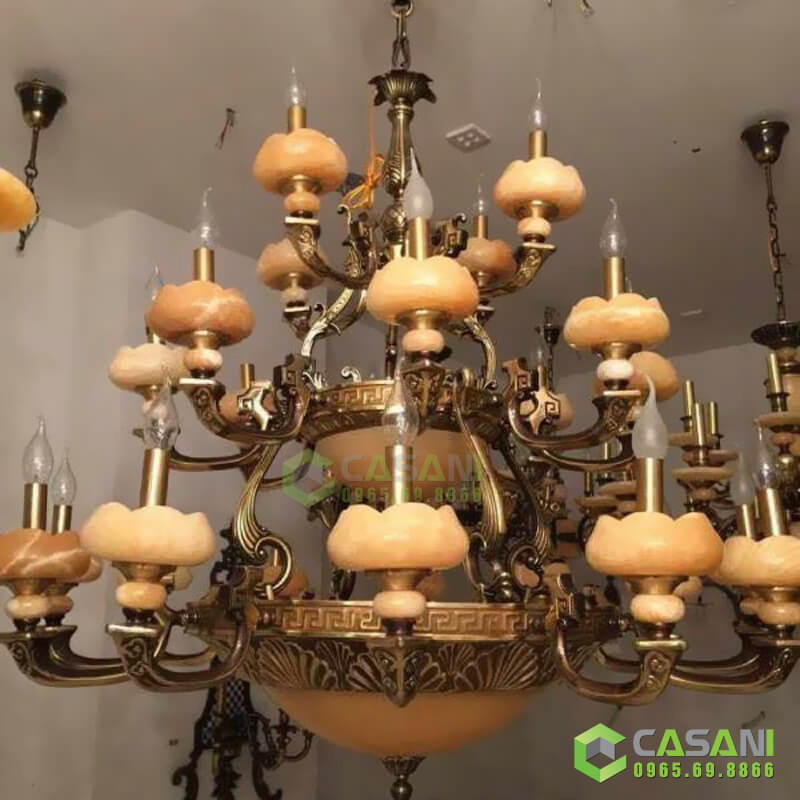 Đèn Chùm Đồng CCD-7018-24