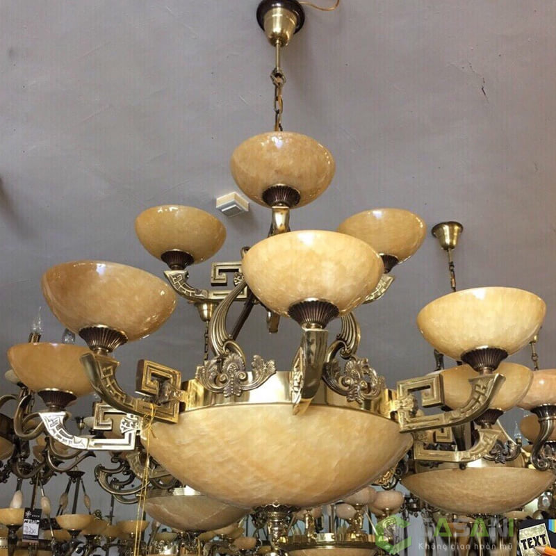 Đèn Chùm Đồng CCD-8302-12