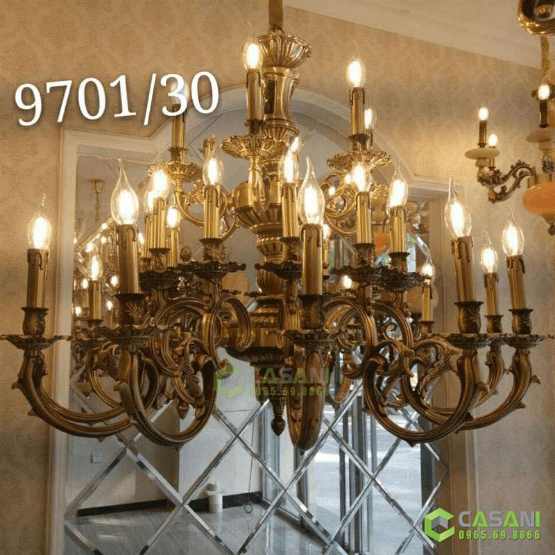 Đèn Chùm Đồng CCD-9701-30