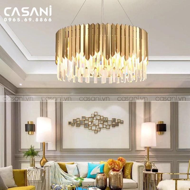 Top 6 đèn trang trí phòng khách hiện đại, tinh tế và ấn tượng