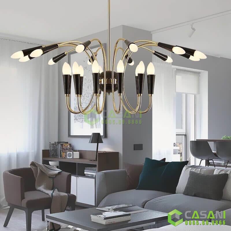 đèn chùm hiện đại đẹp