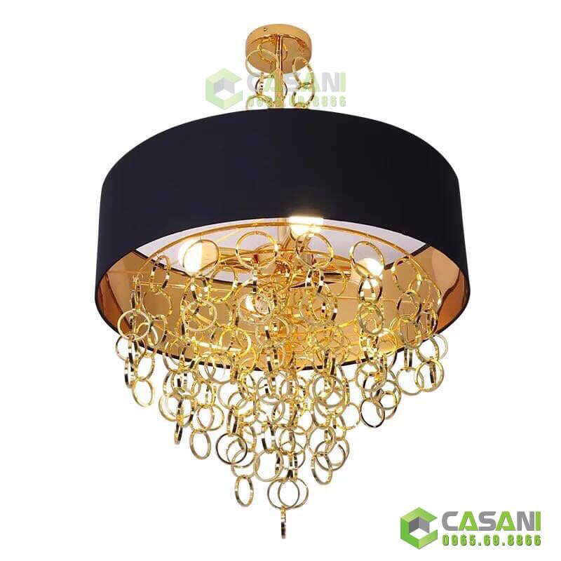 Đèn chùm thả hiện đại trang trí nội thất phòng khách tinh tế sang trọng