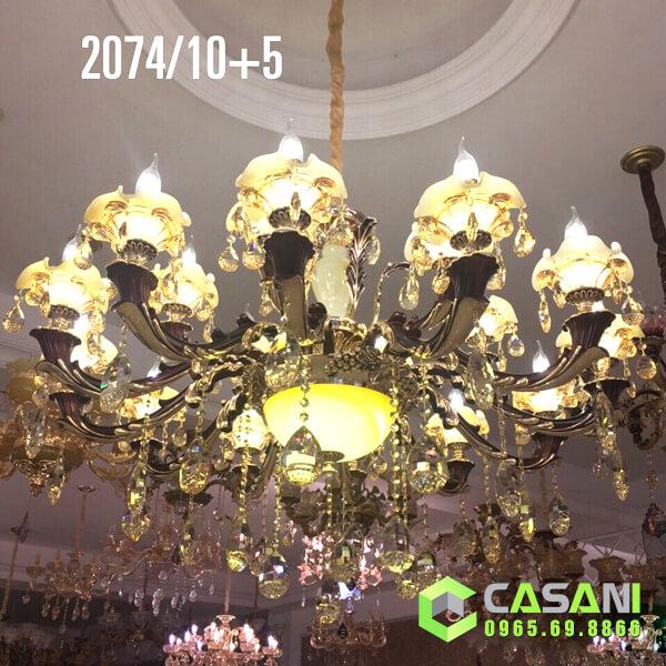 Đèn Chùm Pha Lê CCP-2074-15