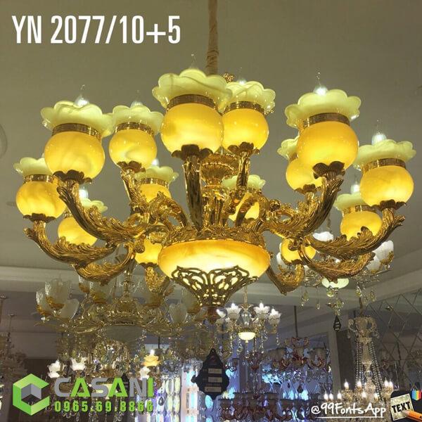 Đèn Chùm Pha Lê CCP-2077-15