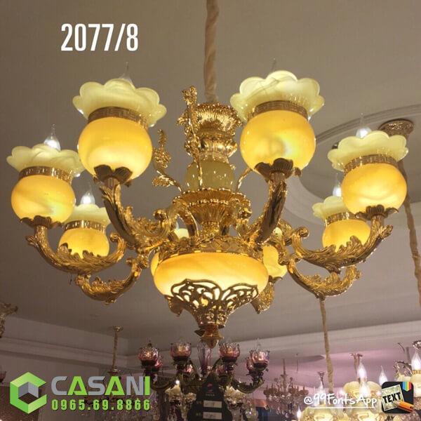 Đèn Chùm Pha Lê CCP-2077-8