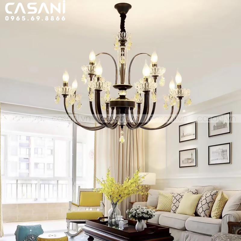 Xu hướng thiết kế ánh sáng mới cho phòng khách