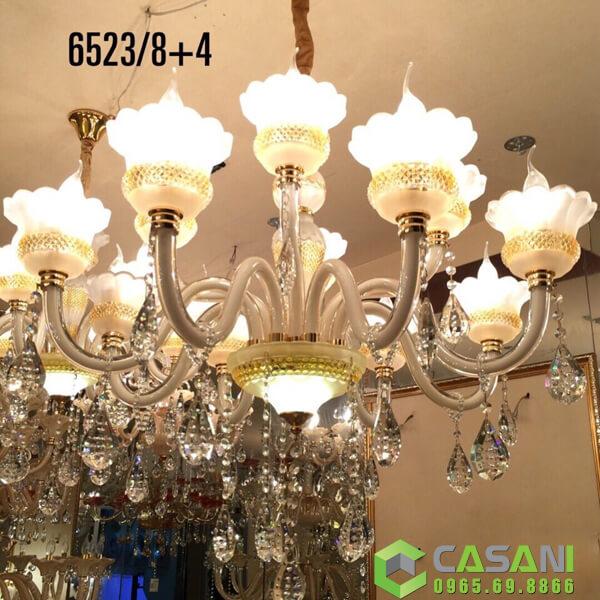 Gợi ý cách lựa chọn đèn chùm trang trí chung cư