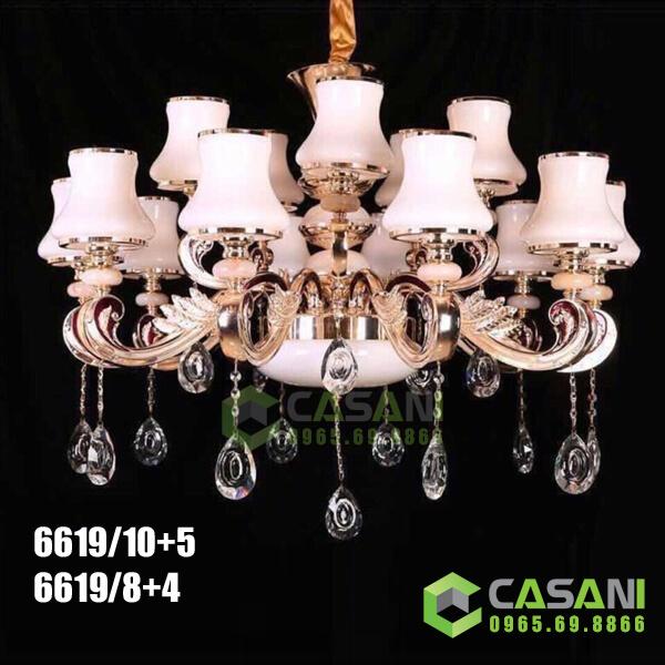 Đèn Chùm Pha Lê CCP-6619-15