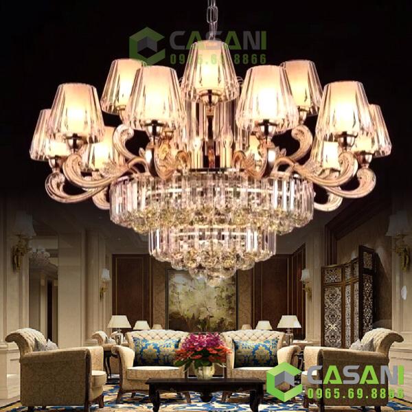 Đèn trang trí cho phòng khách hiện đại