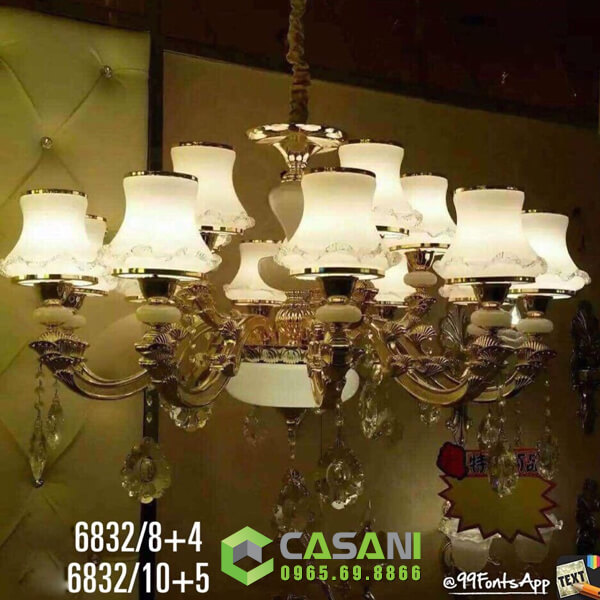 Đèn Chùm Pha Lê CCP-6832-12