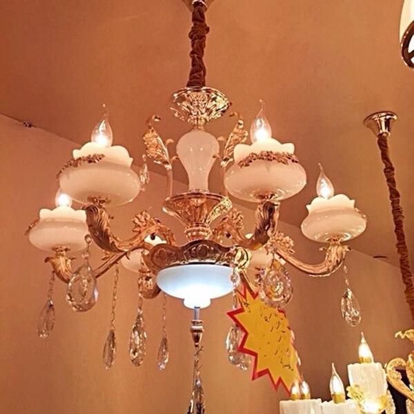 Đèn chùm Ý cao cấp cho phòng khách
