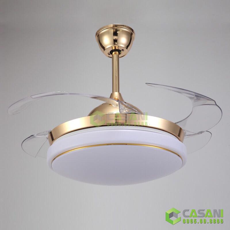 Đèn chùm quạt trần CQ8238