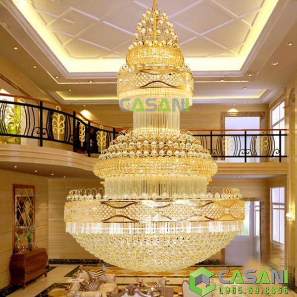 Đèn Chùng Pha Lê Thông Tầng CCT-6803