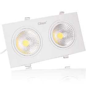 Đèn downlight đôi SPC model 2x7w