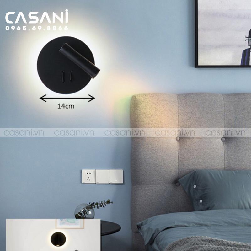 Tổng hợp những mẫu đèn ngủ treo tường hiện đại, sang trọng