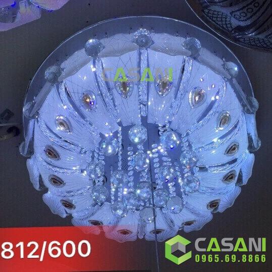Đèn mâm pha lê CMT-812-600