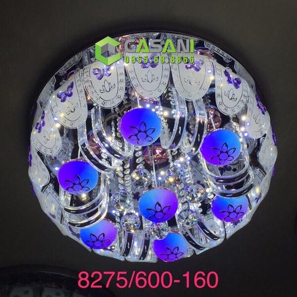 Đèn mâm pha lê CMT-8275-600