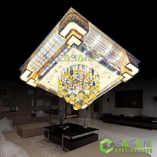 Mách bạn cách chọn đèn mâm ốp trần giá rẻ, chất lượng