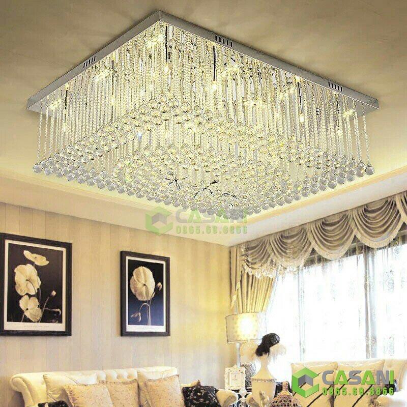 Cần lưu ý gì khi lắp đặt đèn mâm pha lê thiết kế trong gia đình?