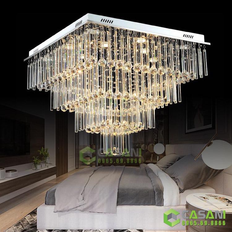 5 lý do bạn nên chọn đèn mâm led vuông để trang trí không gian ngôi nhà