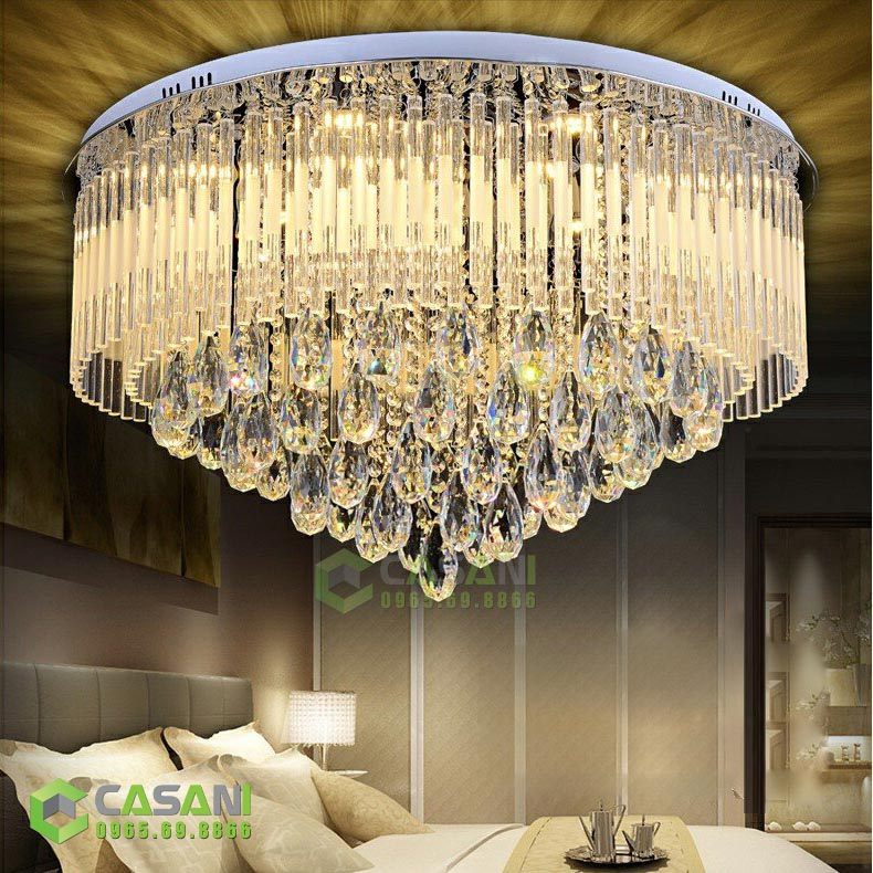 5 lý do nên chọn đèn mâm led tròn cho căn hộ chung cư