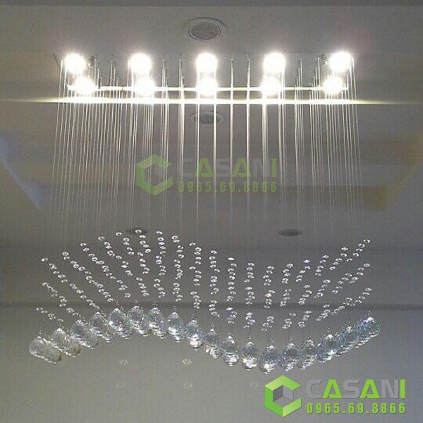 Đèn mâm pha lê thiết kế CMTK-125