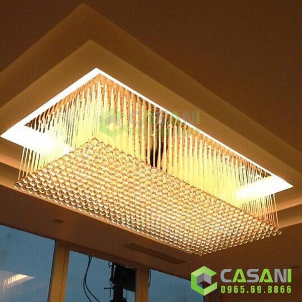Đèn mâm pha lê thiết kế CMTK-126