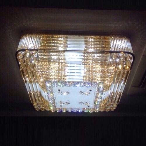 Đèn mâm vuông cao cấp CMV-9326-600
