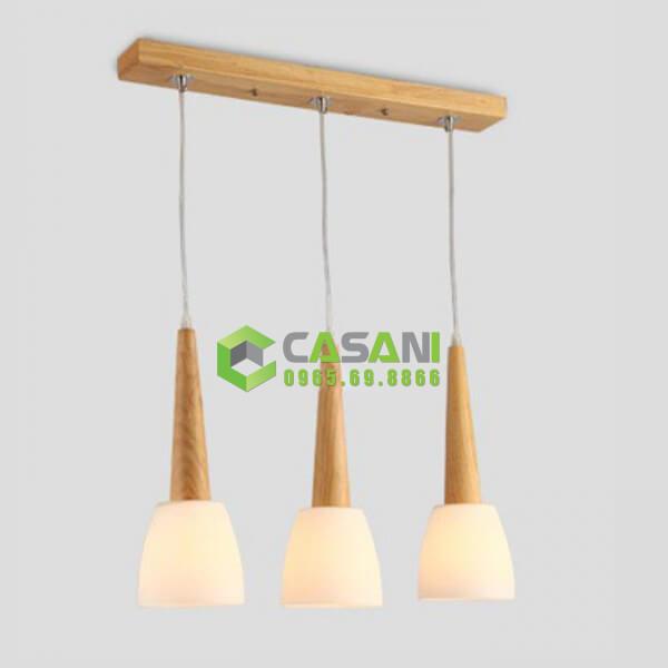 Đèn thả gỗ mã CTH-264
